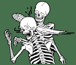 just bones sticker #795840