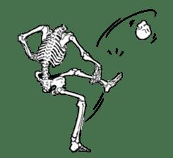just bones sticker #795842