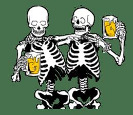 just bones sticker #795843