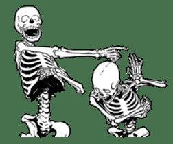 just bones sticker #795849