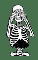 just bones sticker #795858