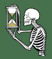 just bones sticker #795859