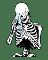 just bones sticker #795861