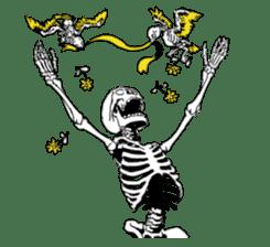 just bones sticker #795862