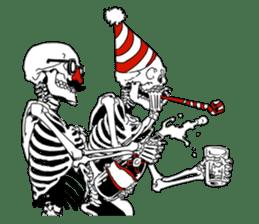 just bones sticker #795866