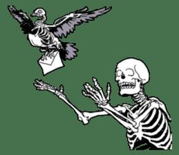 just bones sticker #795869