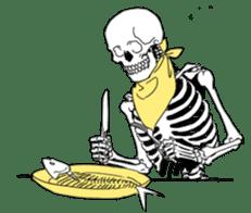 just bones sticker #795870