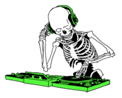 just bones sticker #795873
