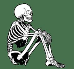 just bones sticker #795875