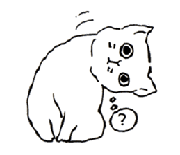 Cat,Cat,Cat!! sticker #796399