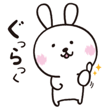 Japlish Bunny Stickers sticker #796754
