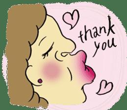 kiss you sticker #800080