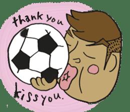 kiss you sticker #800090