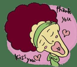 kiss you sticker #800105