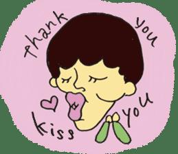 kiss you sticker #800108