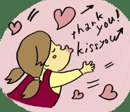 kiss you sticker #800109