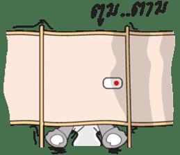 I'm A Rhyno Girl sticker #800756