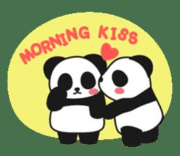 Panda In Love sticker #801439