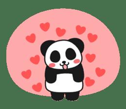 Panda In Love sticker #801441