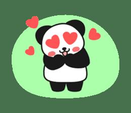 Panda In Love sticker #801447