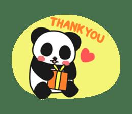 Panda In Love sticker #801448