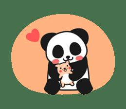 Panda In Love sticker #801452