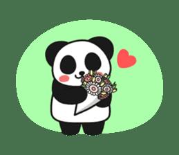Panda In Love sticker #801453