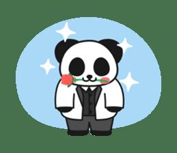 Panda In Love sticker #801456
