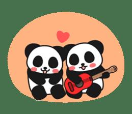 Panda In Love sticker #801461