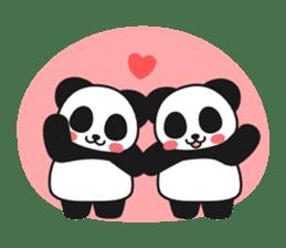 Panda In Love sticker #801465