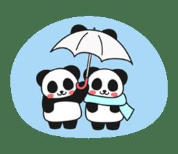 Panda In Love sticker #801475