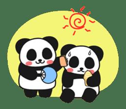 Panda In Love sticker #801476