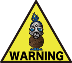 Gas Mask Family sticker #801515