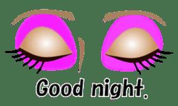 Eyes Only (English Version) sticker #802320