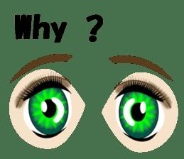 Eyes Only (English Version) sticker #802324