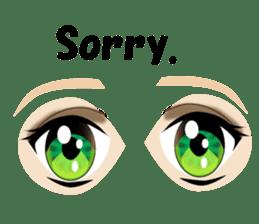 Eyes Only (English Version) sticker #802325