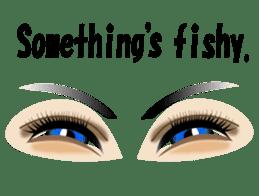 Eyes Only (English Version) sticker #802326