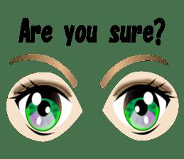 Eyes Only (English Version) sticker #802332