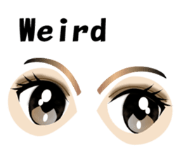 Eyes Only (English Version) sticker #802340