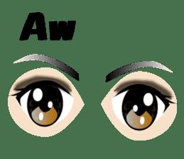 Eyes Only (English Version) sticker #802341