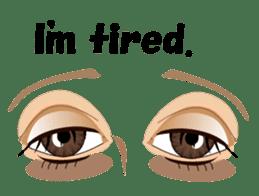 Eyes Only (English Version) sticker #802342