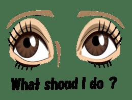 Eyes Only (English Version) sticker #802346