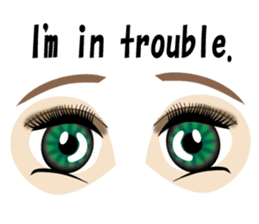 Eyes Only (English Version) sticker #802352