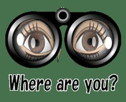 Eyes Only (English Version) sticker #802357