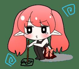 Elf-chan Sticker sticker #803294