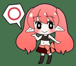 Elf-chan Sticker sticker #803295