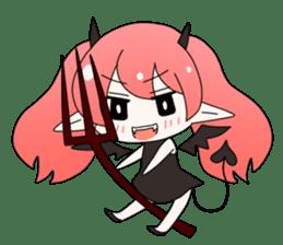 Elf-chan Sticker sticker #803315