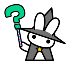 Magical Usa-chan sticker #804528