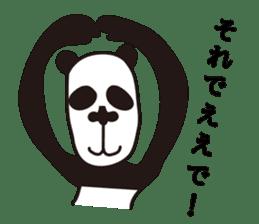 kansai panda sticker #804879