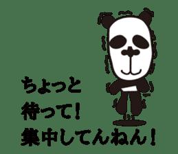 kansai panda sticker #804890